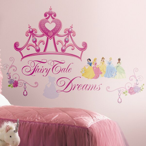 Deco Disney Princess Crown Giant Wall Decal by Room Mates
