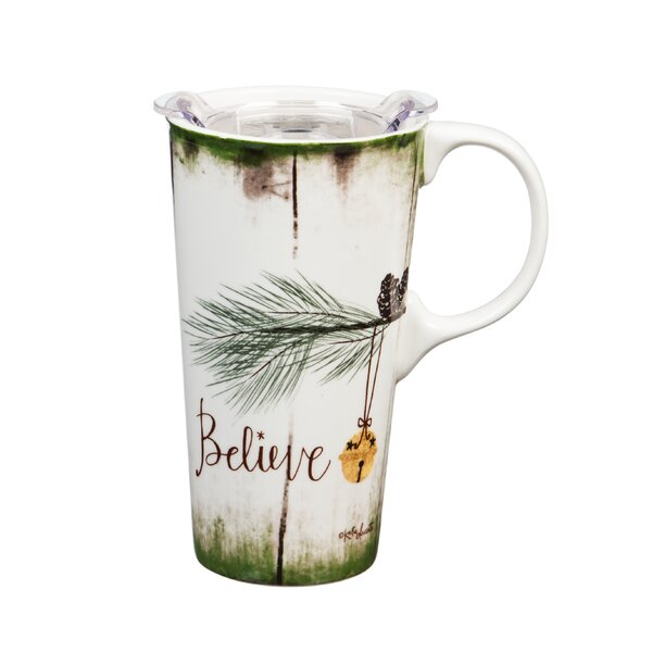 Elle Believe Travel Mug by The Holiday Aisle