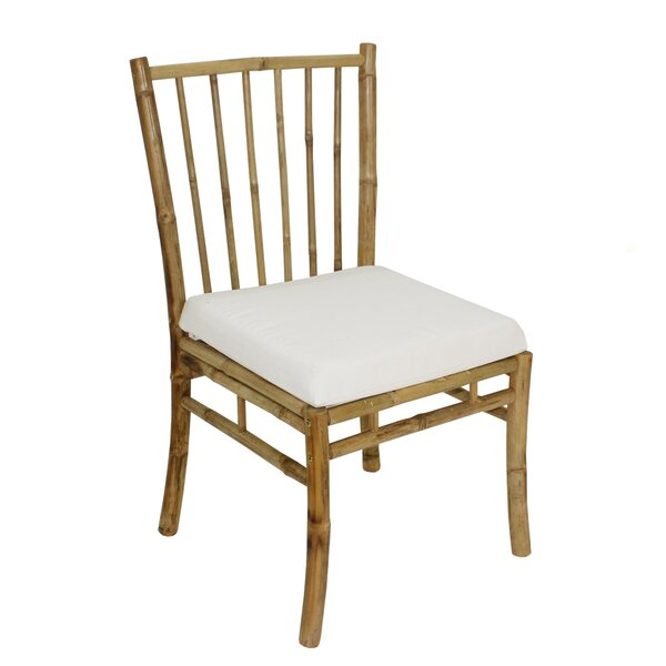 Platani Patio Dining Chair With Cushion By Bay Isle Home
