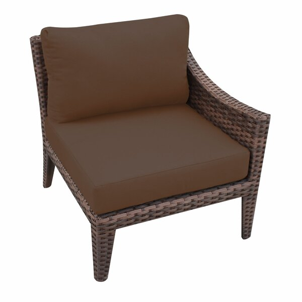 Manhattan Left Armless Chair with Cushions by TK Classics