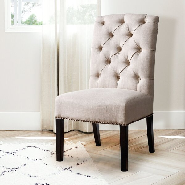 Vanpelt Upholstered Dining Chair by Darby Home Co Darby Home Co