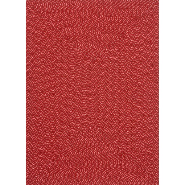 Daniell Hand-Woven Red Indoor/Outdoor Area Rug by Wrought Studio