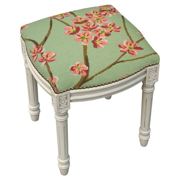 Magnolia Accent Stool by 123 Creations