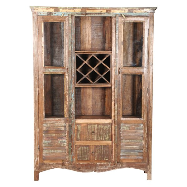 Ricker Glass Shutter China Cabinet by Bloomsbury Market