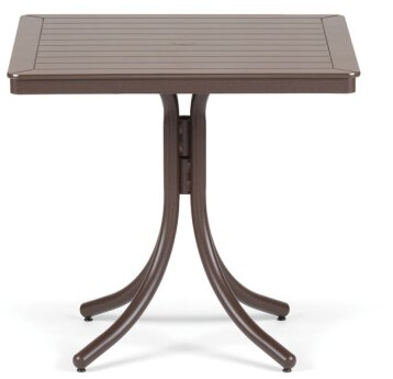 Marine Grade Polymer 32 Square Dining Table by Telescope Casual