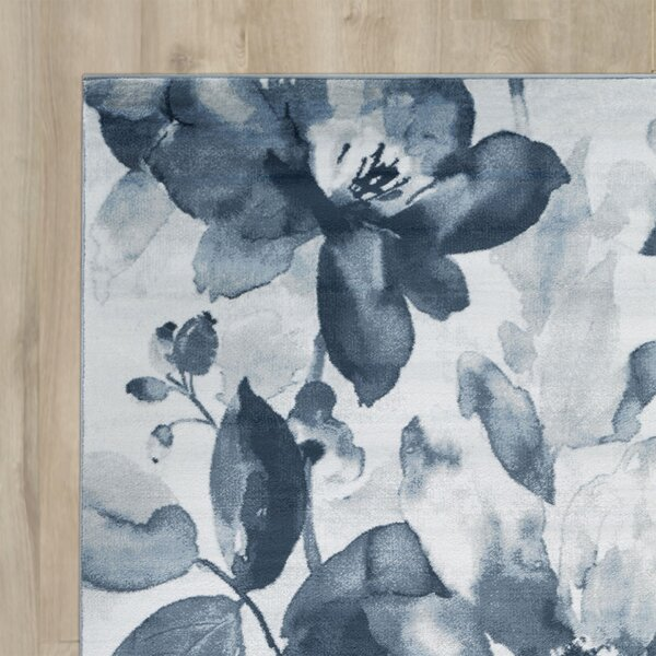 Griselde Navy/Ivory Area Rug by Willa Arlo Interiors