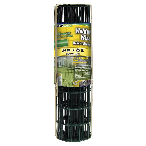 2 ft. H x 25 ft. W 16 Gauge Junior Roll Welded Fencing by YARDGARD