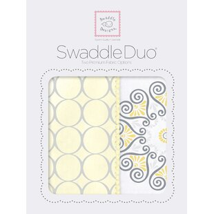 Shop For Penelope Swaddle Blanket in Yellow By Swaddle Designs