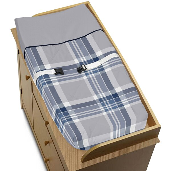 Plaid Changing Pad Cover by Sweet Jojo Designs