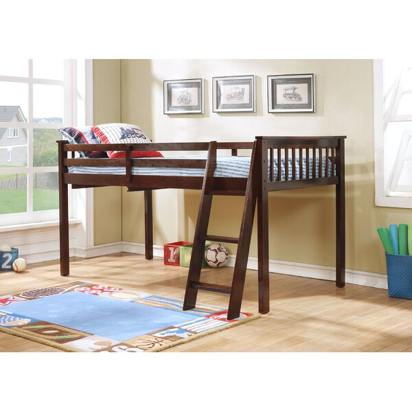 Bloomfield Twin Loft Bed by Harriet Bee