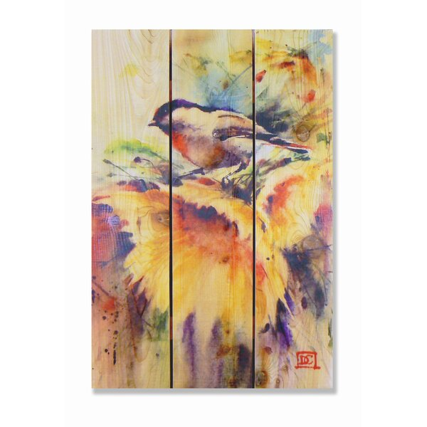 Signature 1 Sunny Day Cedar Painting Print on Cedar by Gizaun Art