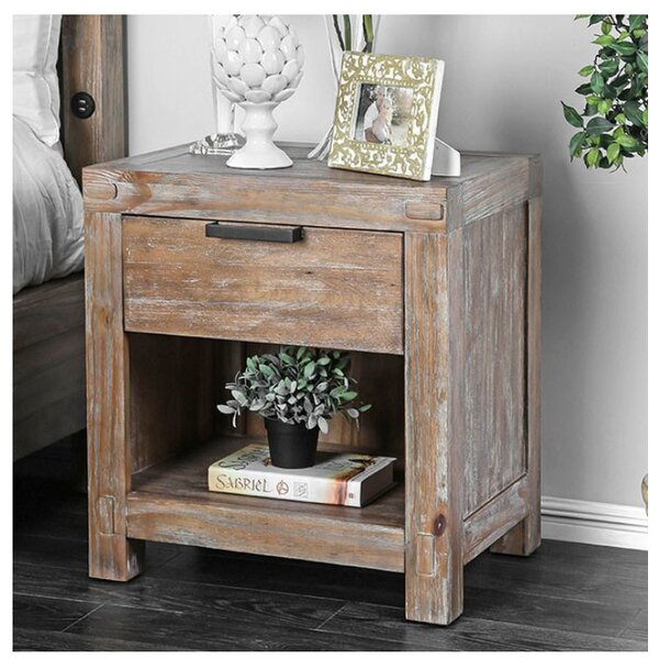 Benally 1 Drawer Nightstand by Foundry Select