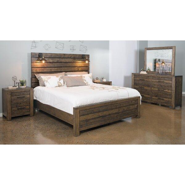 Tripp Panel 5 Piece Bedroom Set by Gracie Oaks
