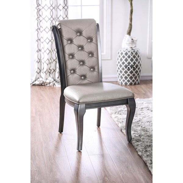 Centerton Solid Wood Dining Chair (Set of 2) by House of Hampton House of Hampton