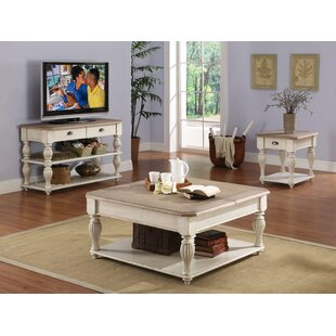 Quevillon Coffee Table Set Lark Manor