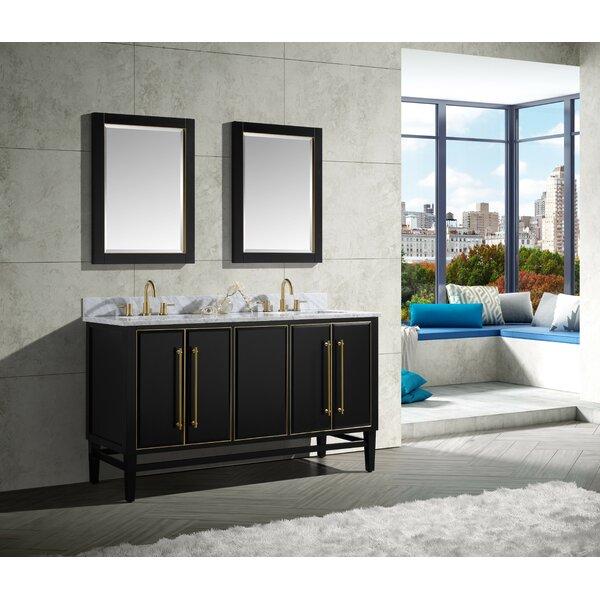 Rison 61 Double Bathroom Vanity Set
