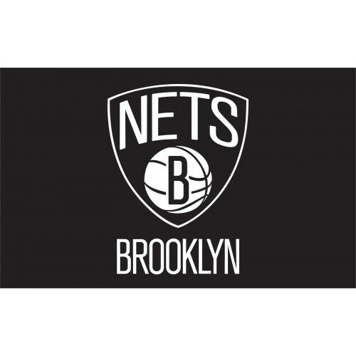 NBA Brooklyn Nets Polyester 3 x 5 ft. Flag by NeoPlex