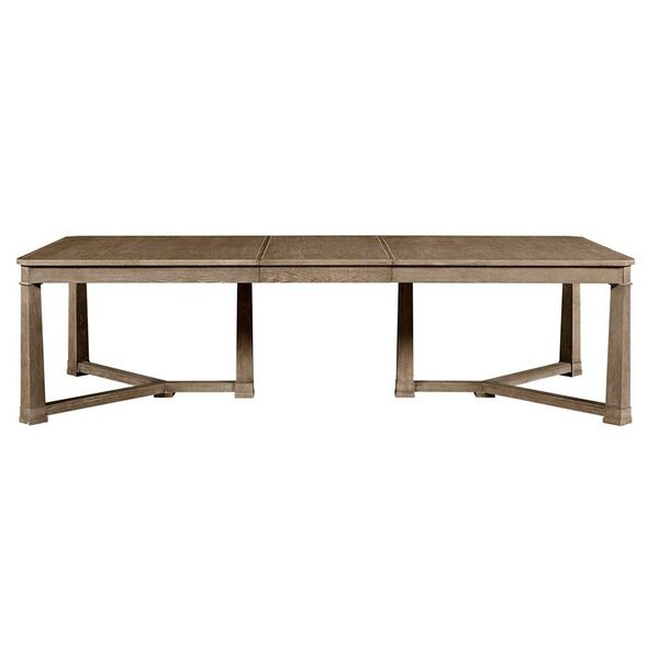 Marcello Extendable Solid Wood Dining Table by Ophelia & Co.