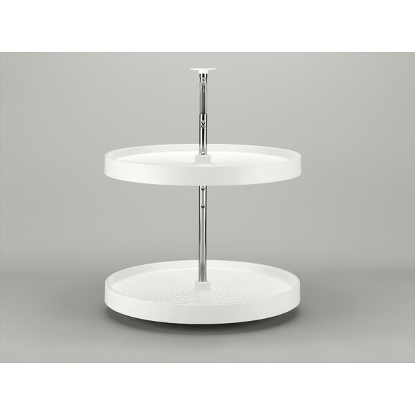 Polymer Full Circle 2 Shelf Lazy Susan by Rev-A-Shelf