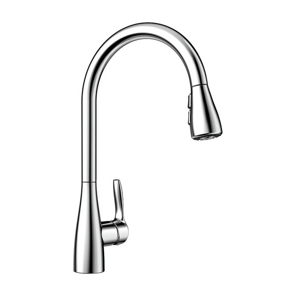 Atura Pull Down Single Handle Kitchen Faucet By Blanco