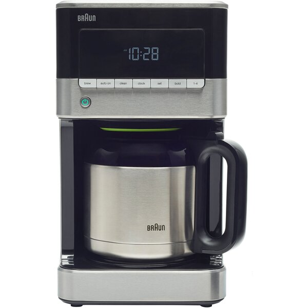 10-Cup Drip Coffee Maker by Braun