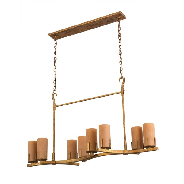 Kirchner 8 - Light Shaded Geometric Chandelier By Millwood Pines