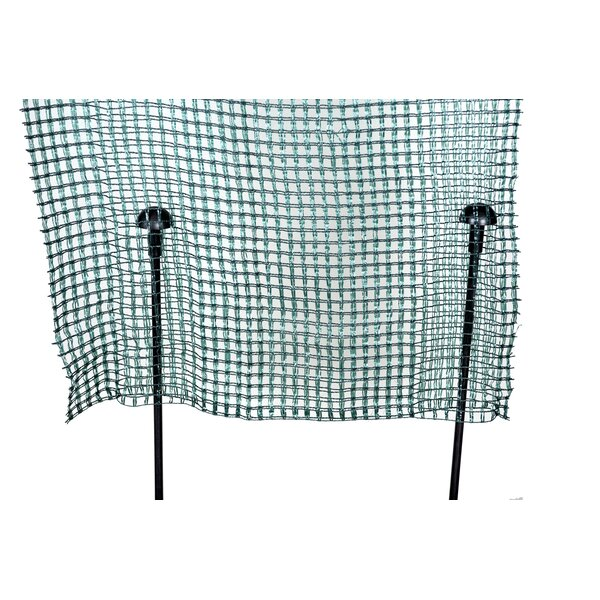 3 ft. H x 25 ft. W Fast Pockets Fencing by LGarden