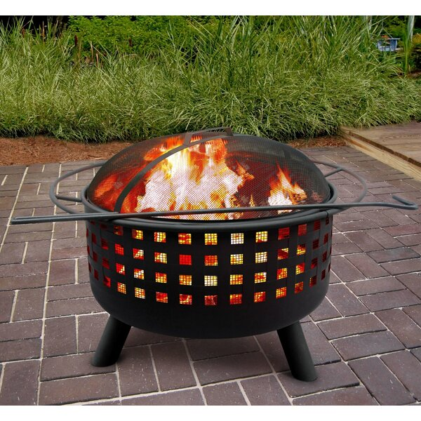 City Lights Memphis Wood Burning Fire Pit by Landmann