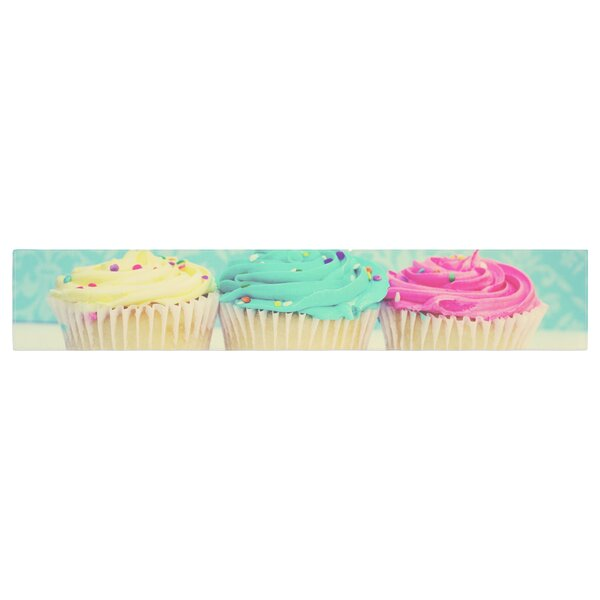 Beth Engel Life is as Sweet as Cupcakes Table Runner by East Urban Home