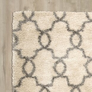 Reviews Torvehallerne White Shades Area Rug By Bungalow Rose
