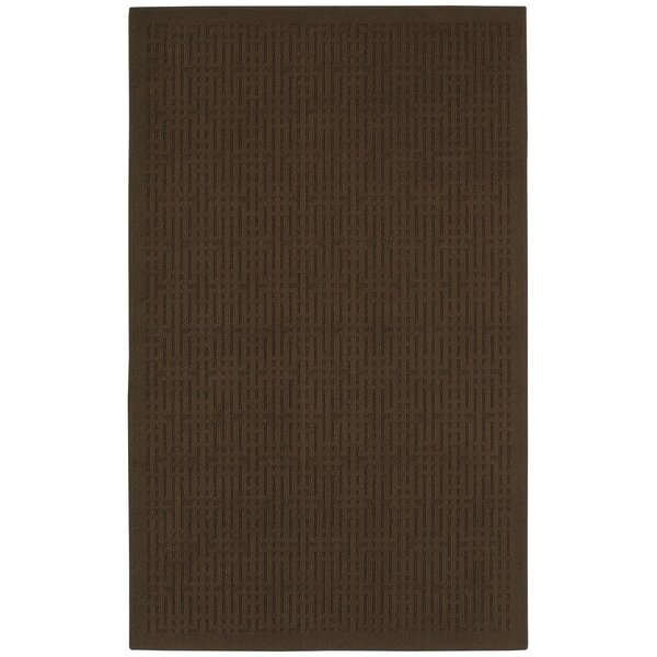 Cherwell Brown Area Rug by Red Barrel Studio