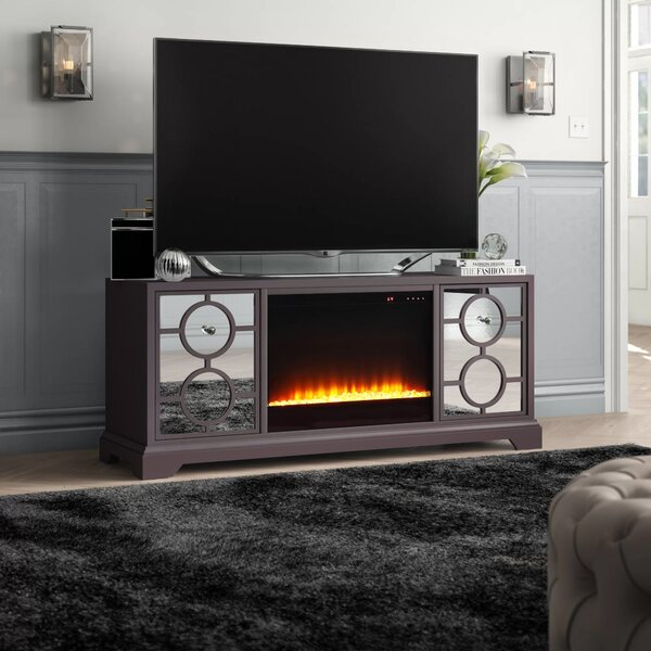 McMillian Solid Wood TV Stand For TVs Up To 70