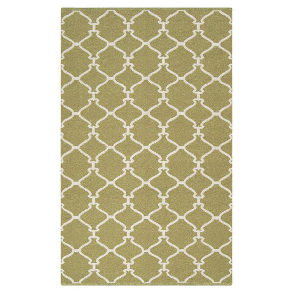 Ravenna Green Area Rug by Charlton Home