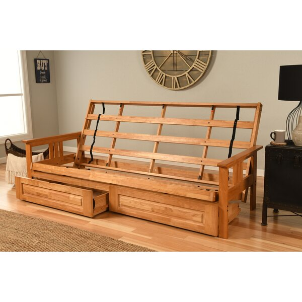 Leavittsburg Futon Frame By Red Barrel Studio