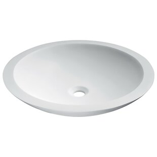 Great Price Juniper Stone Circular Vessel Bathroom Sink By ANZZI