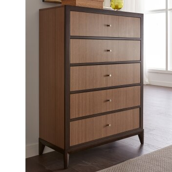 Coletta 5 Drawer Chest by World Menagerie