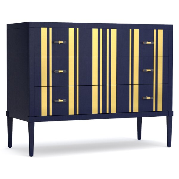 Parker 3 Drawer Bachelors Chest by Cynthia Rowley