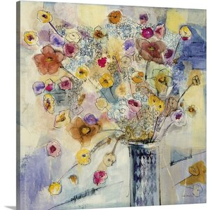 'Popcorn I' by Jill Martin Painting Print on Canvas by Great Big Canvas