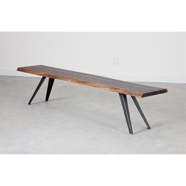 Vega Wood Bench by Nuevo