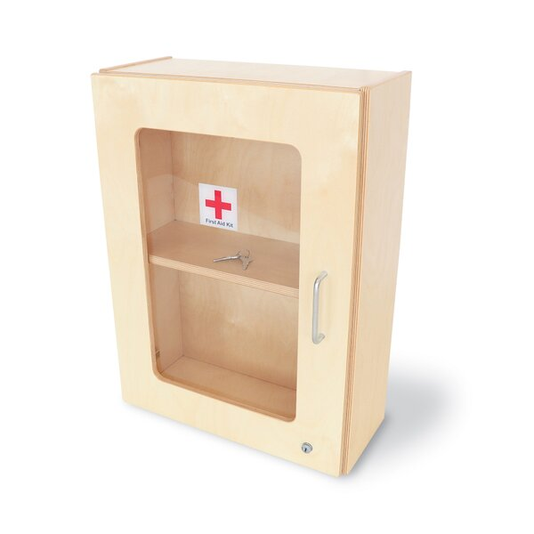 17 W x 24 H Wall Mounted Cabinet