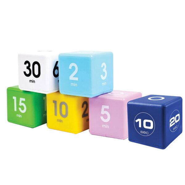 TimeCube Set (Set of 6) by Datexx