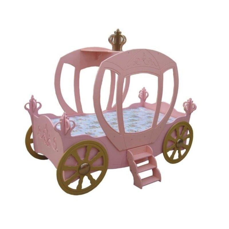 Zoomie Kids Reichel Princess Carriage