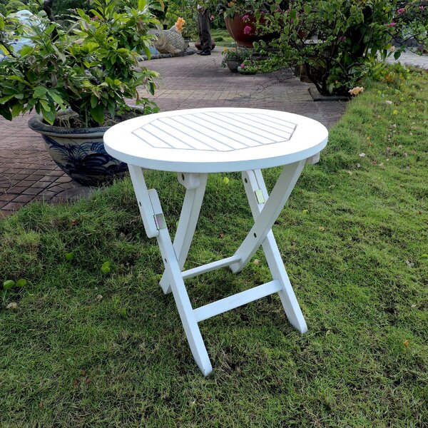 Bristol Folding Side Table By Beachcrest Home