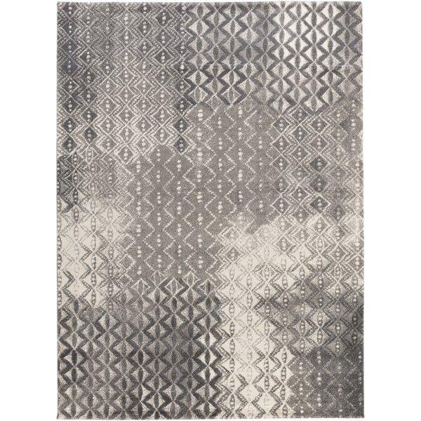 Shive Light Gray/Ivory Area Rug by Willa Arlo Interiors