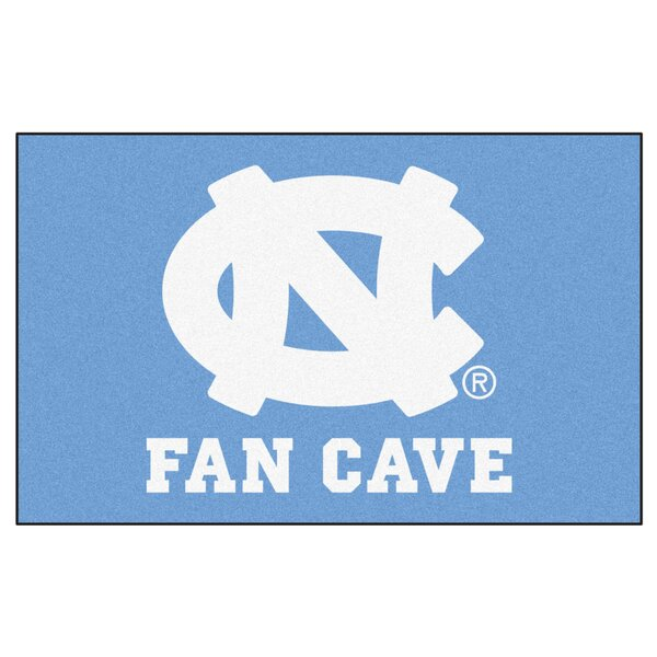 Collegiate NCAA University of North Carolina - Chapel Hill Fan Cave Doormat by FANMATS