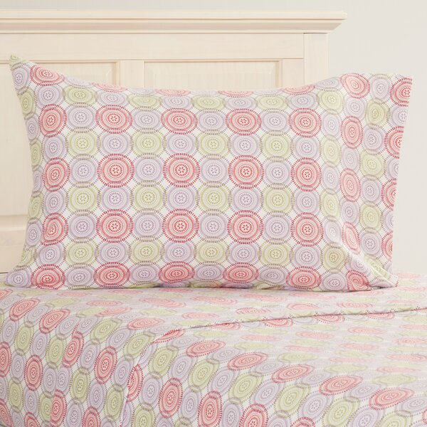 Dogfish Heavy Weight Printed Flannel Sheet Set by Red Barrel Studio