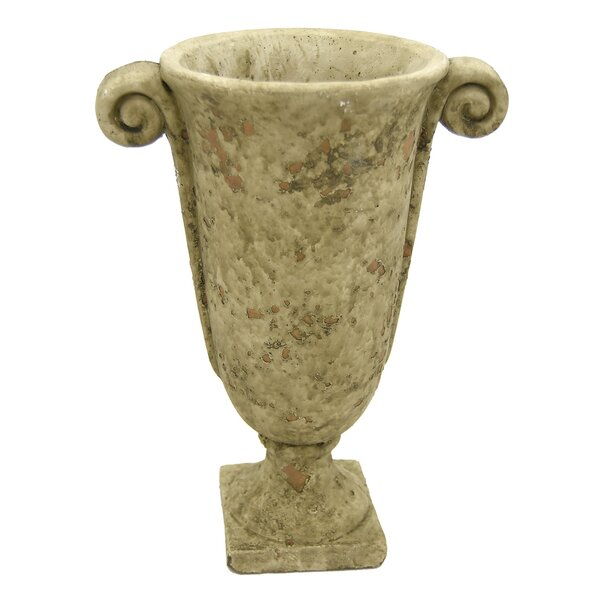 Espinoza Footed Urn Terracotta Pot Planter by Astoria Grand