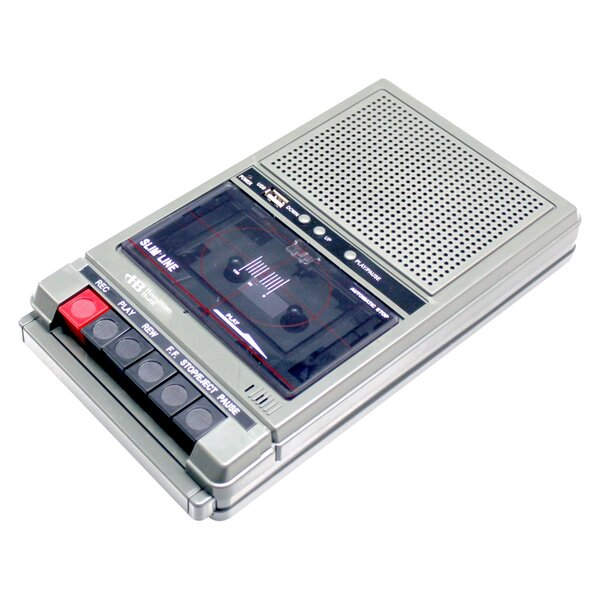 Cassette Recorder with 2 Jacks by Hamilton Buhl