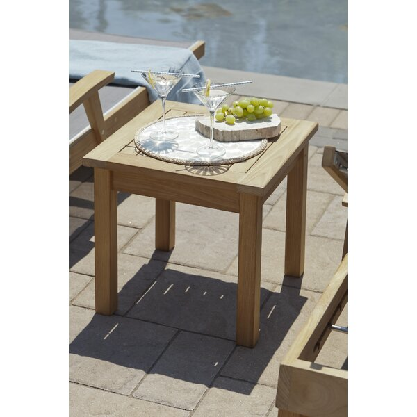 Myers Solid Wood Side Table by Bloomsbury Market