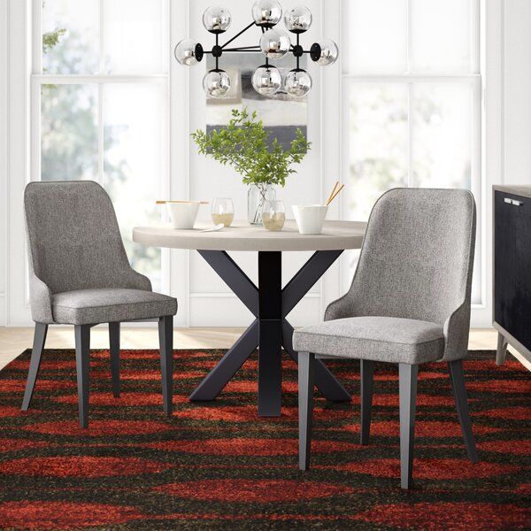 Los Santos Upholstered Dining Chair (Set of 2) by Langley Street Langley Street™